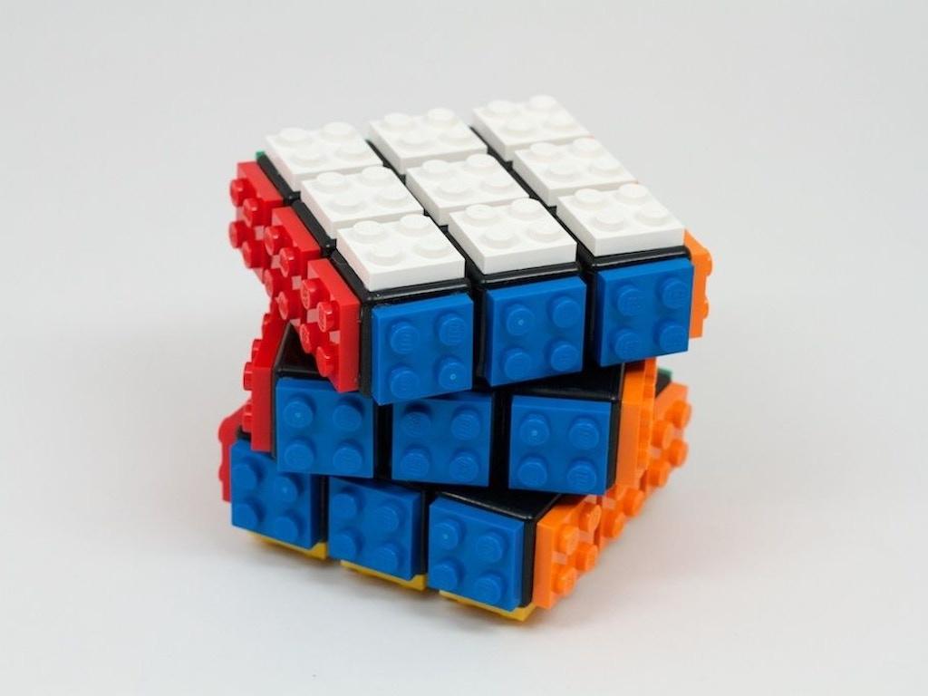Lego my Rubik's Cube