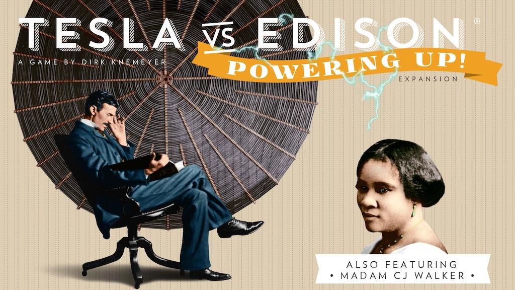 Tesla vs. Edison: Powering Up! miniatura de video del proyecto