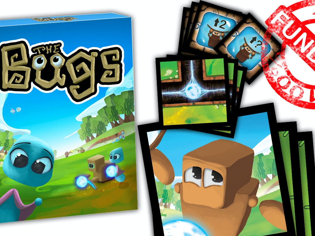 The Bugs. The cooperative card game to learn programming