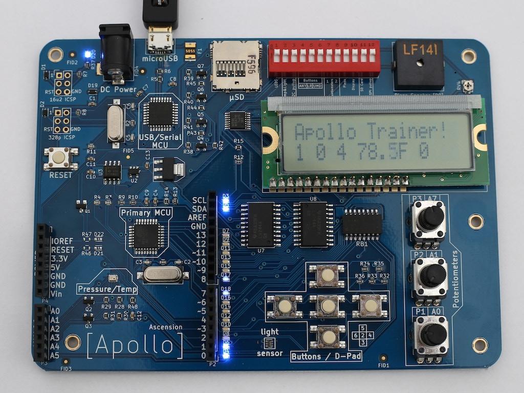 Apollo - Arduino compatible trainer board.