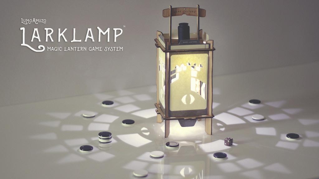 LARKLAMP | Magic Lantern Game System