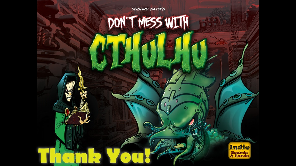 Don't Mess with Cthulhu miniatura de video del proyecto