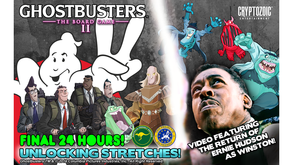 Ghostbusters: The Board Game II miniatura de video del proyecto