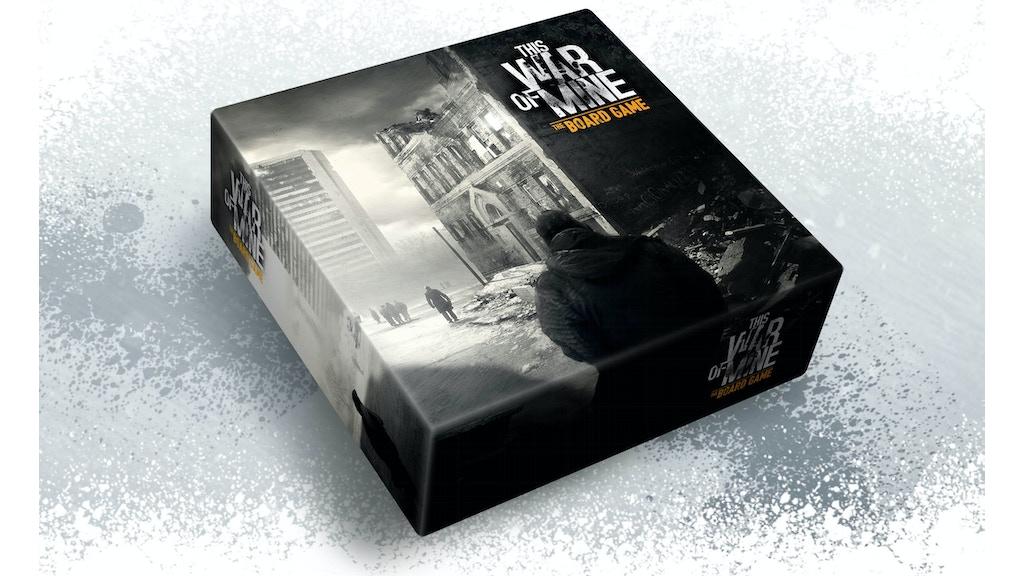 This War Of Mine: The Board Game miniatura de video del proyecto