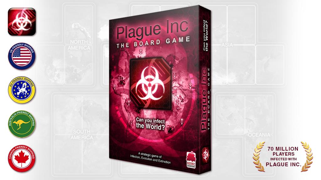 Plague Inc: The Board Game miniatura de video del proyecto