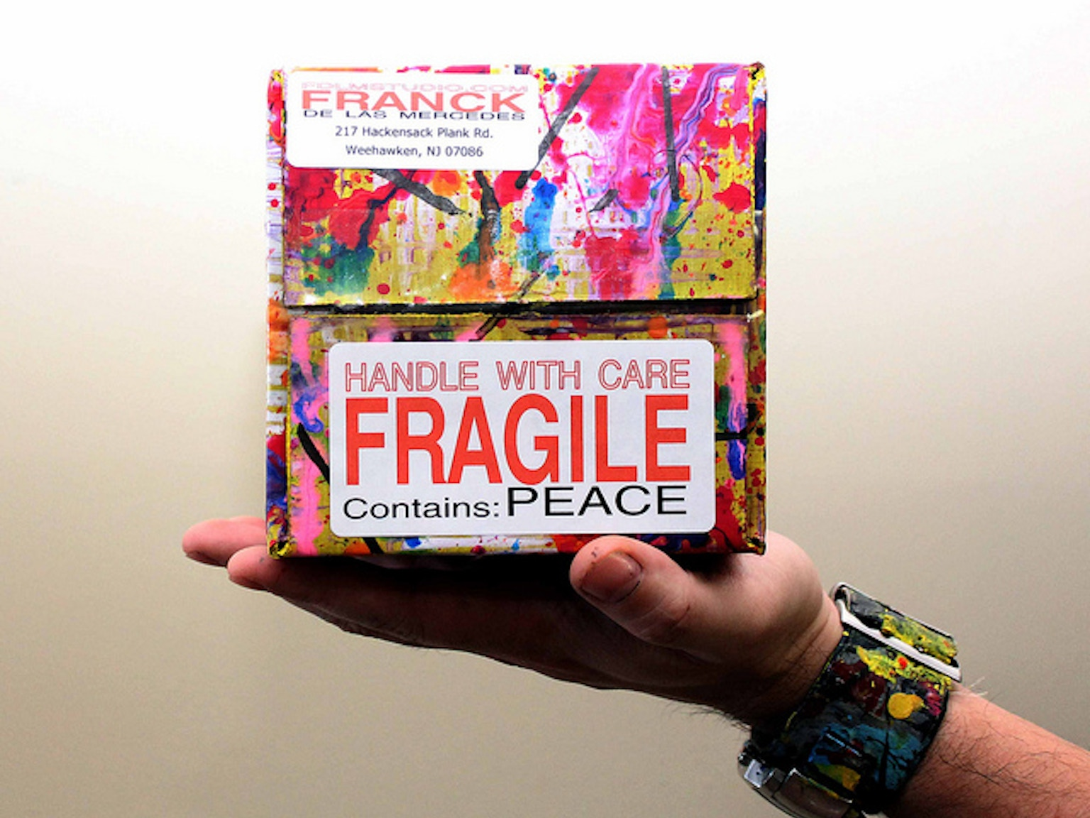 The Priority Boxes Spreading Peace One Box At A Time By