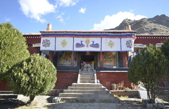 Nechung: The God of a Tibetan Monastery by Christopher Bell