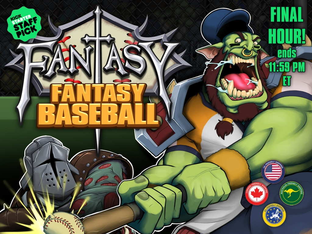 Fantasy Fantasy Baseball: A Roster-Building Card Game miniatura de video del proyecto