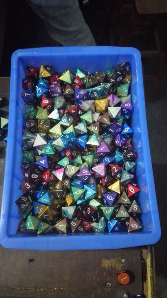 Norse Foundry Aluminum Dice / The finest weapons of the realm.