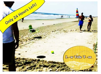 Low Tide Toss: Vintage Beach Game Revamped