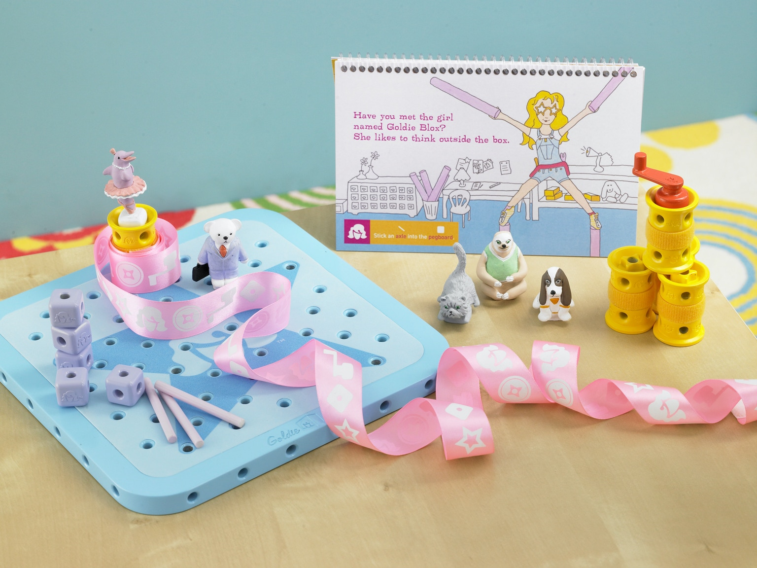 Toys For Engineers : Goldieblox the engineering toy for girls by debbie