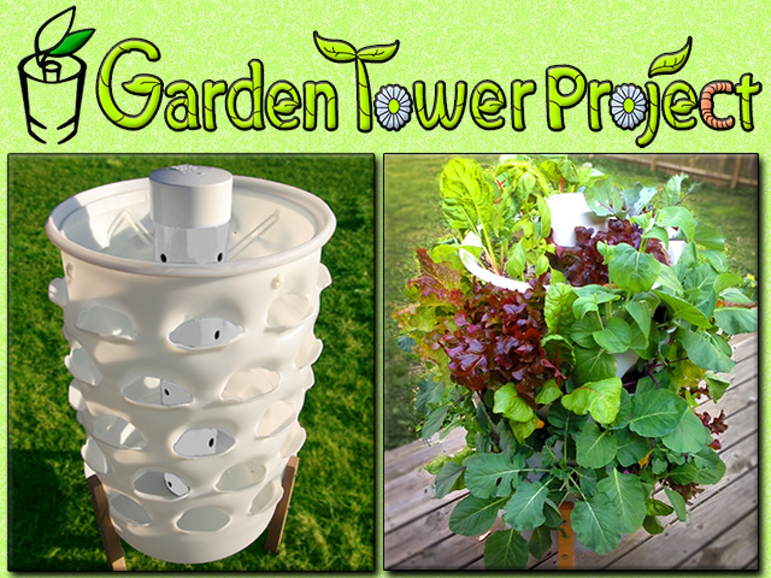Garden Tower Composting 50 Plants Fresh Food Anywhere By Garden Tower Project Kickstarter
