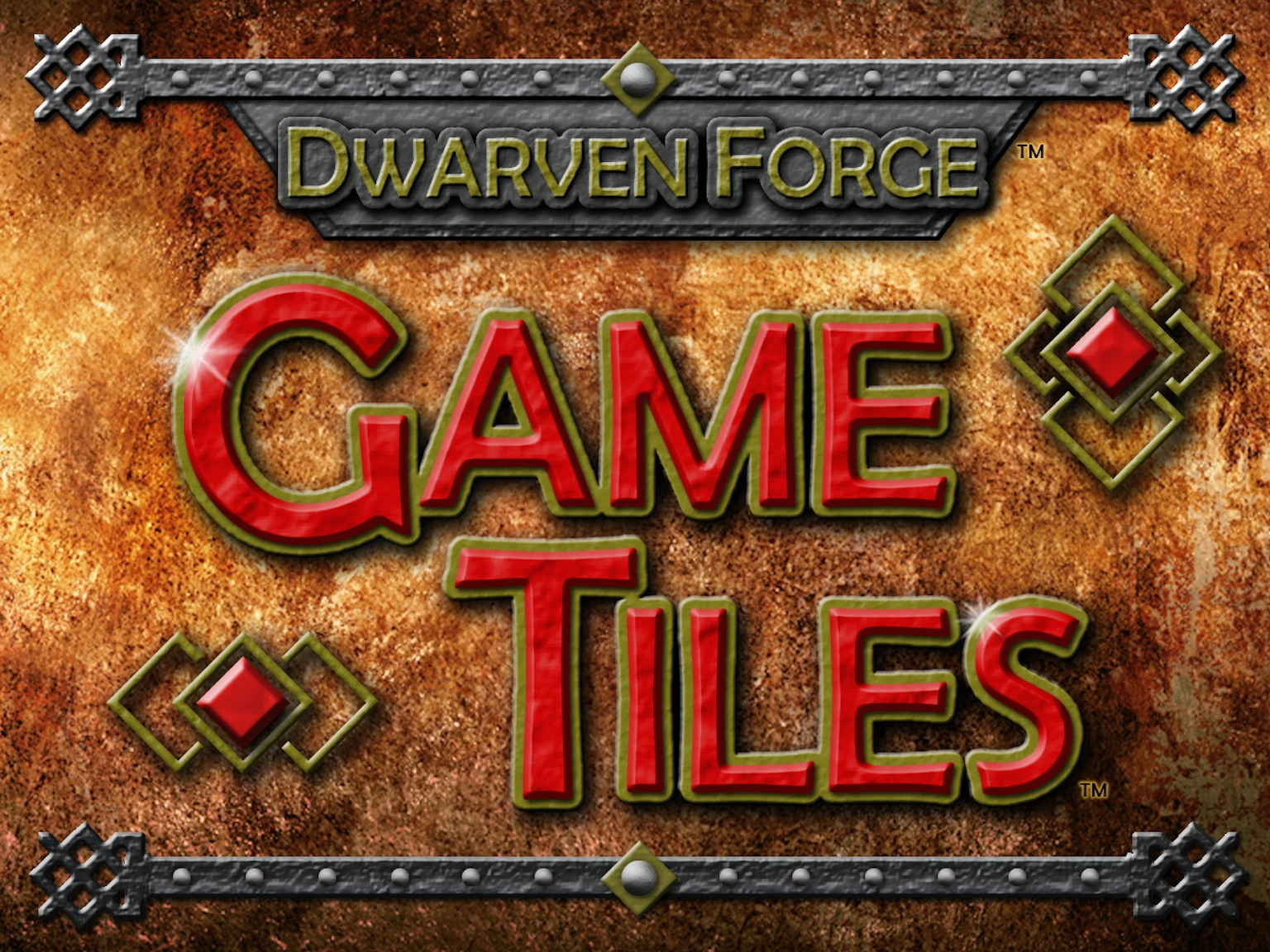 Dwarven Forge: Game Tiles