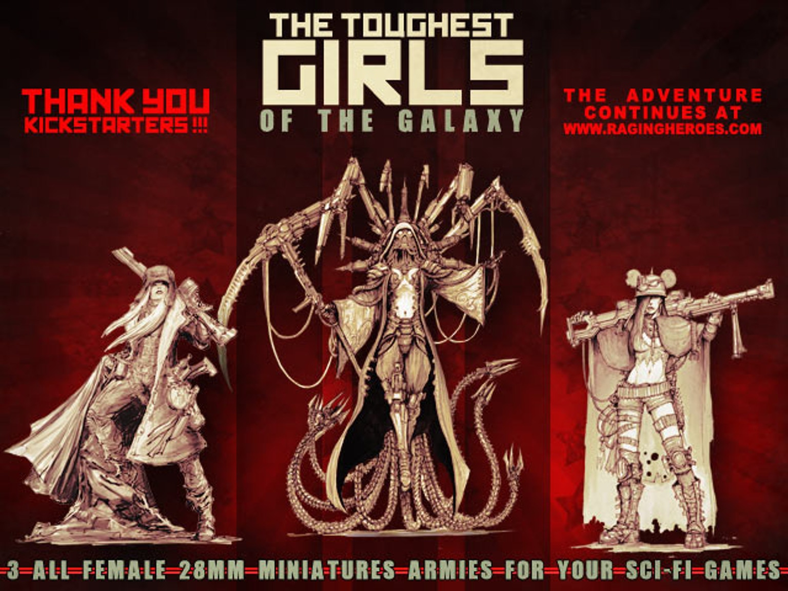 Toughest Girls of the Galaxy