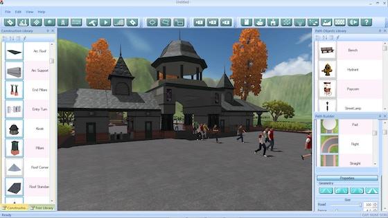 how to create a theme park
