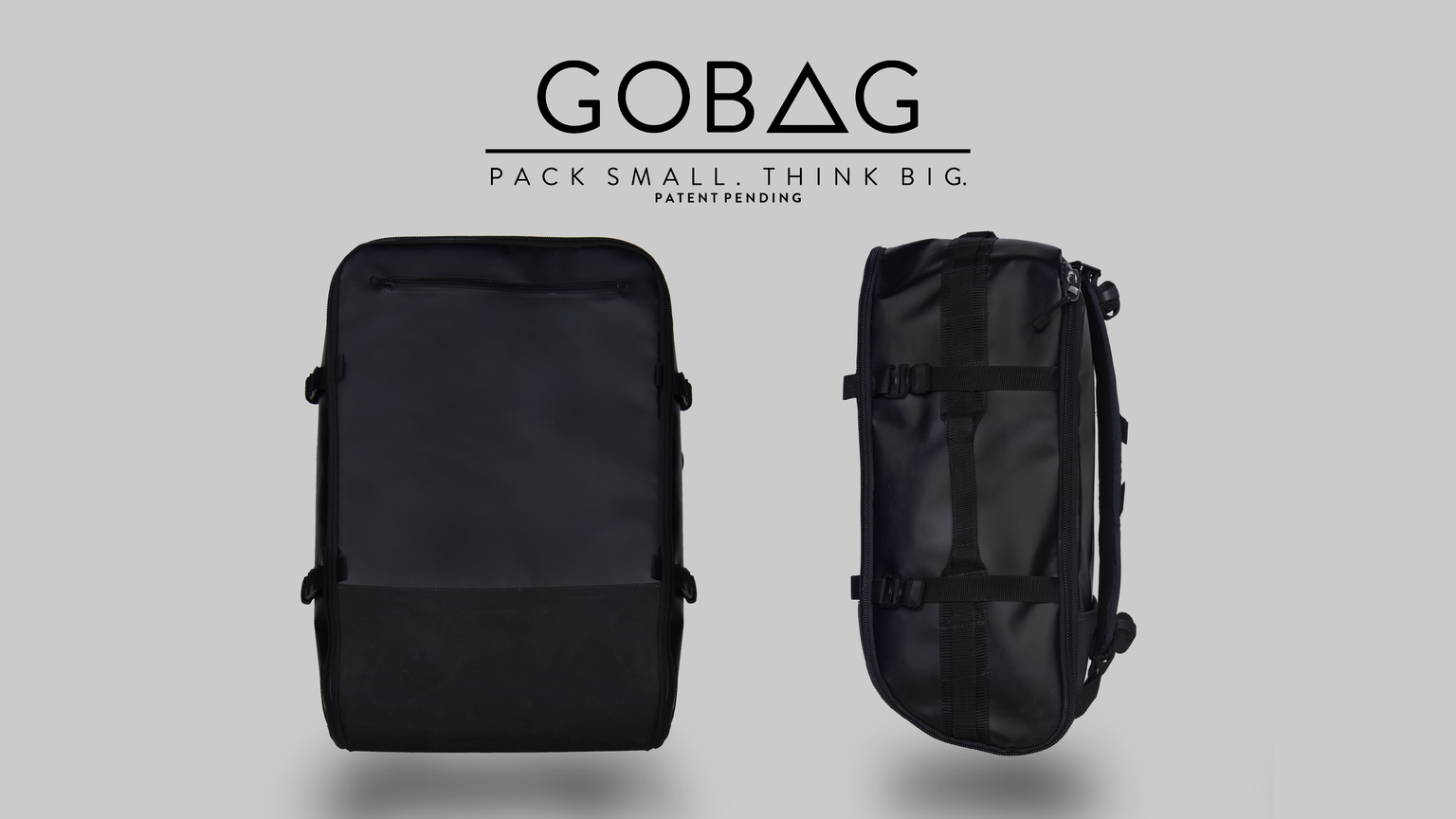 Gobag A Vacuum Compressible Carry On Bag For Any
