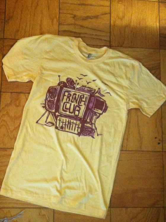 French club t shirt design kickstarter for French club t shirt