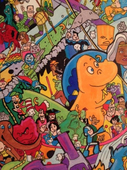 I Spy Cartoon Characters : I spy a cartoon universe by ray sumser — kickstarter