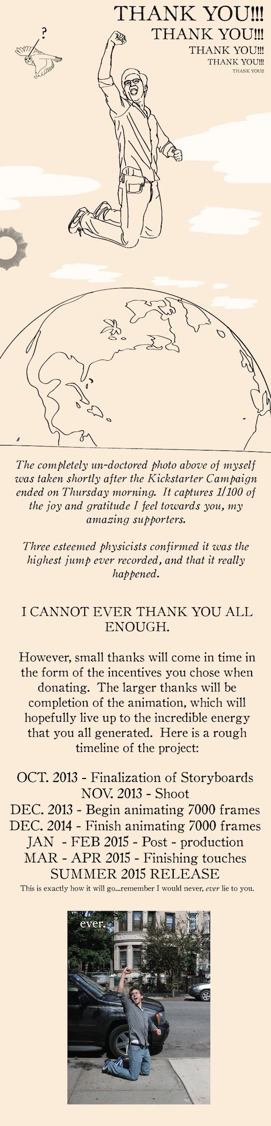 Easy Pieces The Animation (Round 2) by Neil Dvorak » Thank