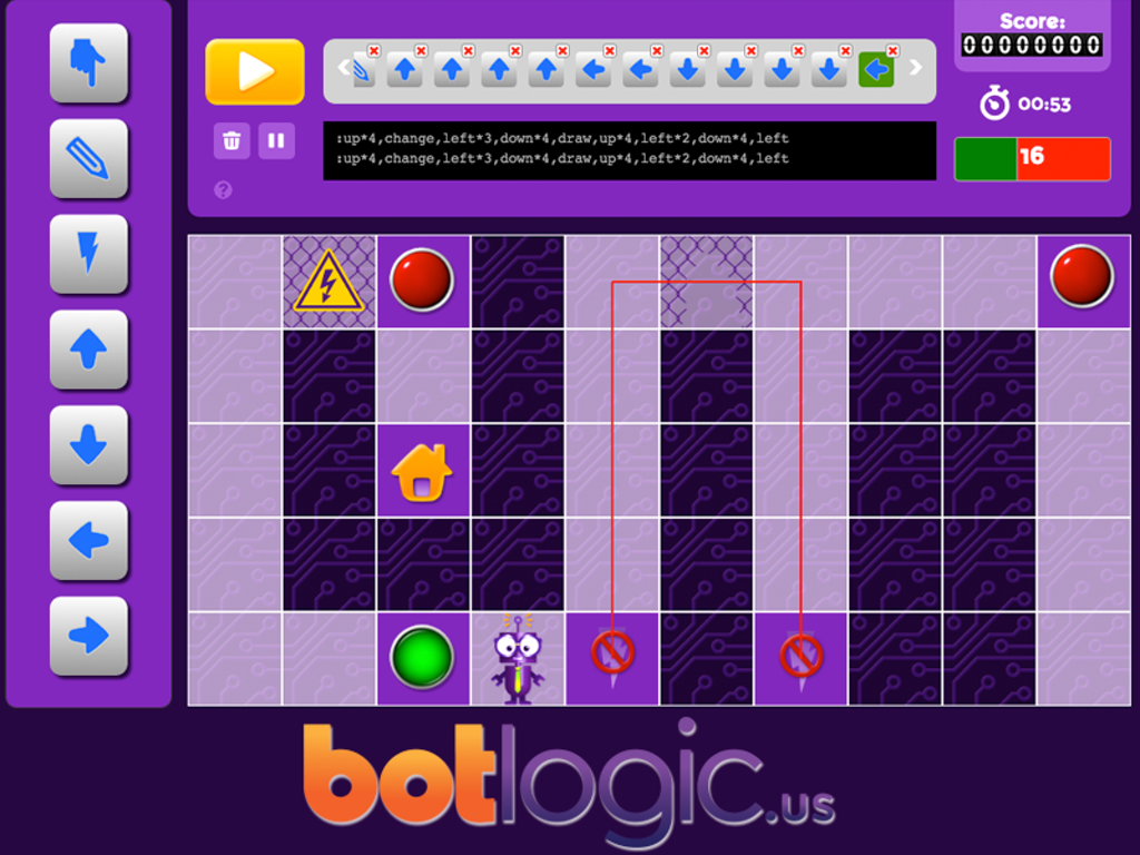 An Online Puzzle Game Using Programming Logic