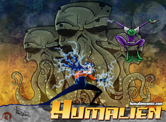 Humalien - An action/scifi comic