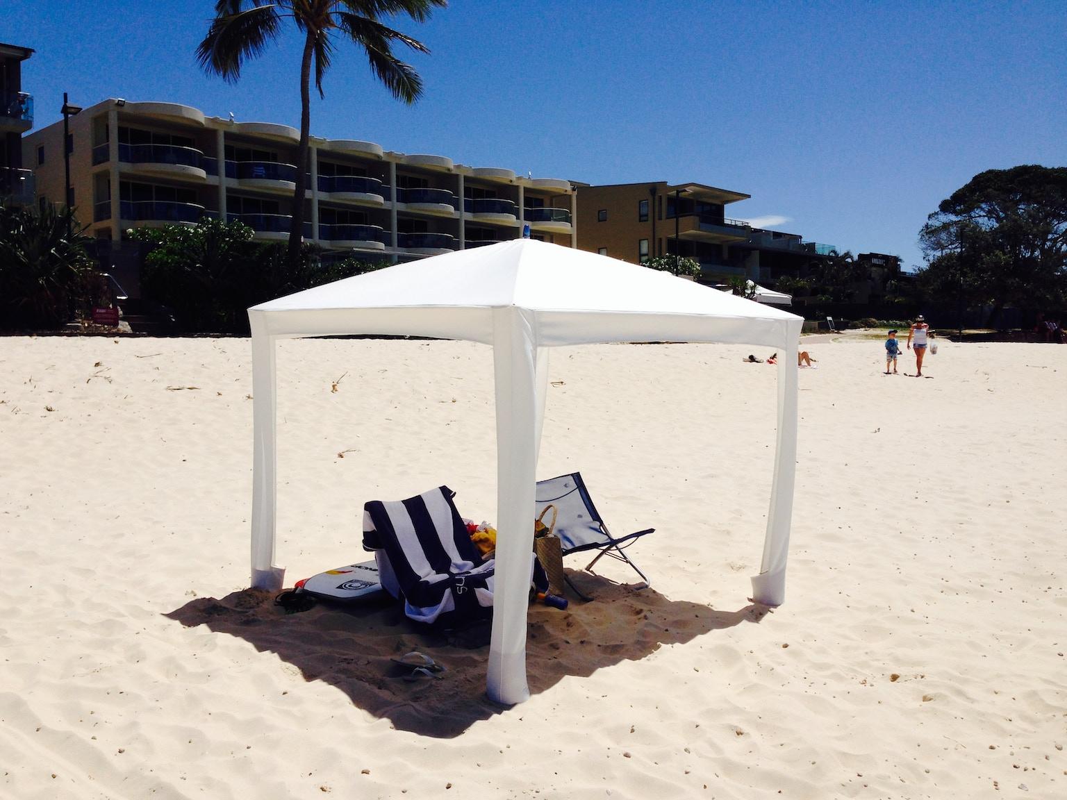 Cool Cabanas The World S Best Sun Shelter By Mark Fraser