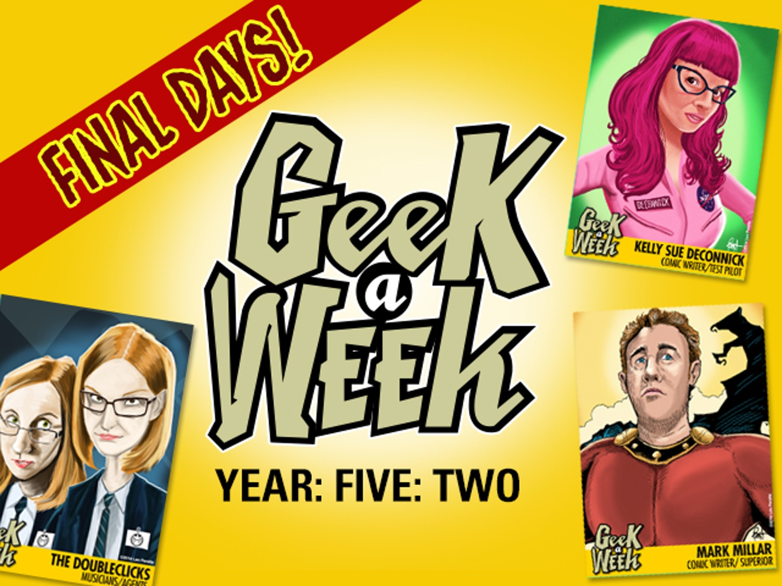 Geek A Week: Year Five Two by Len Peralta —Kickstarter