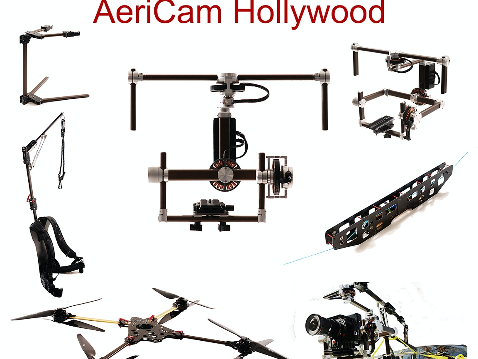 AeriCam Hollywood - 3 Axis Camera Stabilization System by ...