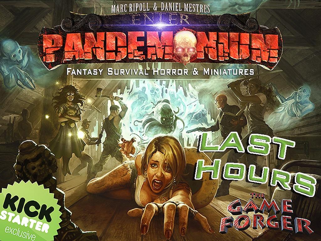 PANDEMONIUM: fantasy survival horror & miniatures miniatura de video del proyecto