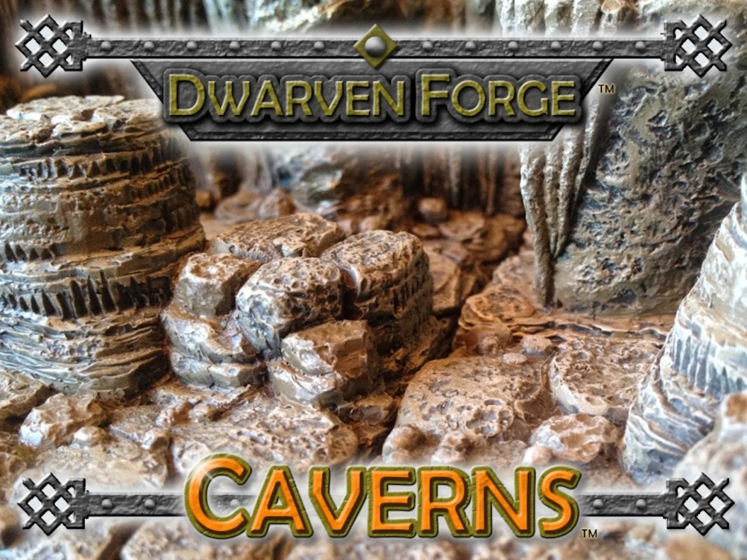 Dwarven Forge: Caverns