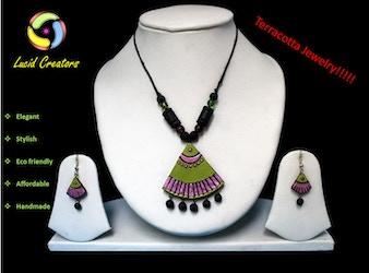 The Eco friendly fashion Jewelry......Terracotta!!!