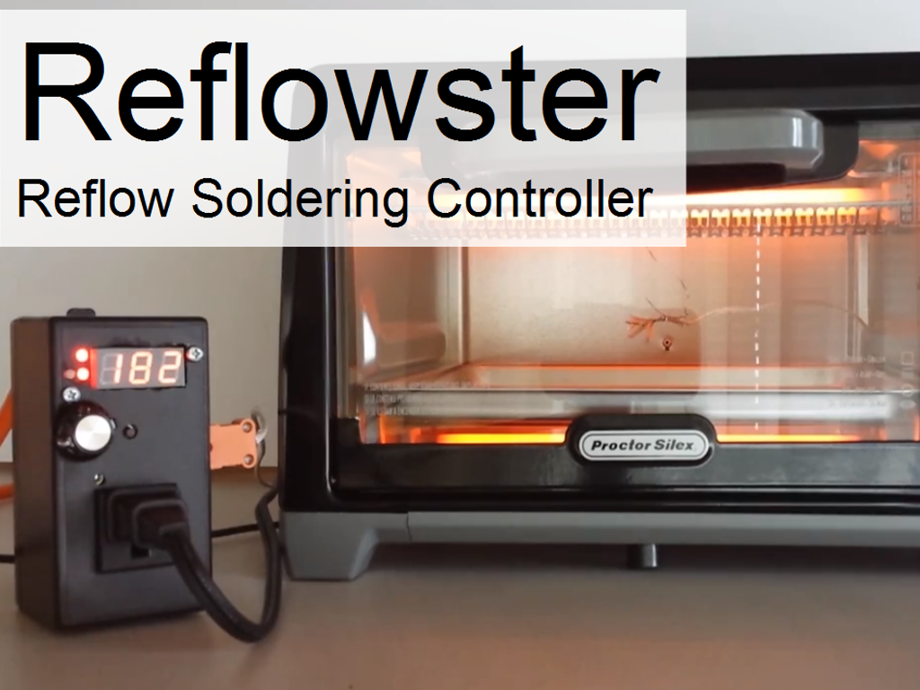 Reflowster Soldering Controller For Surface Mount Pcbs