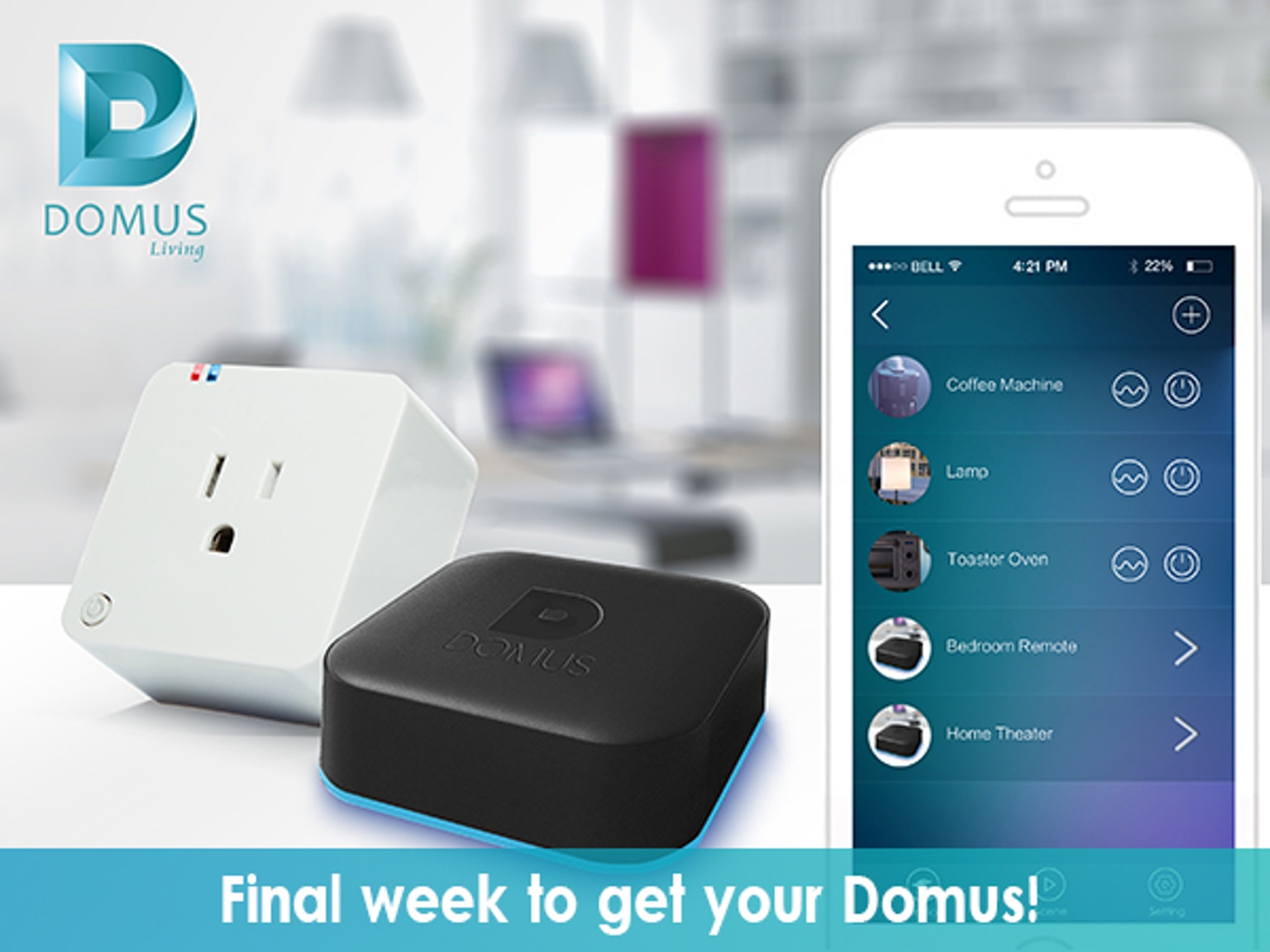 Domus Affordable Smart Home Automation Solution By Domus