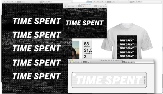 time spent by ronin iftahk wood kickstarter