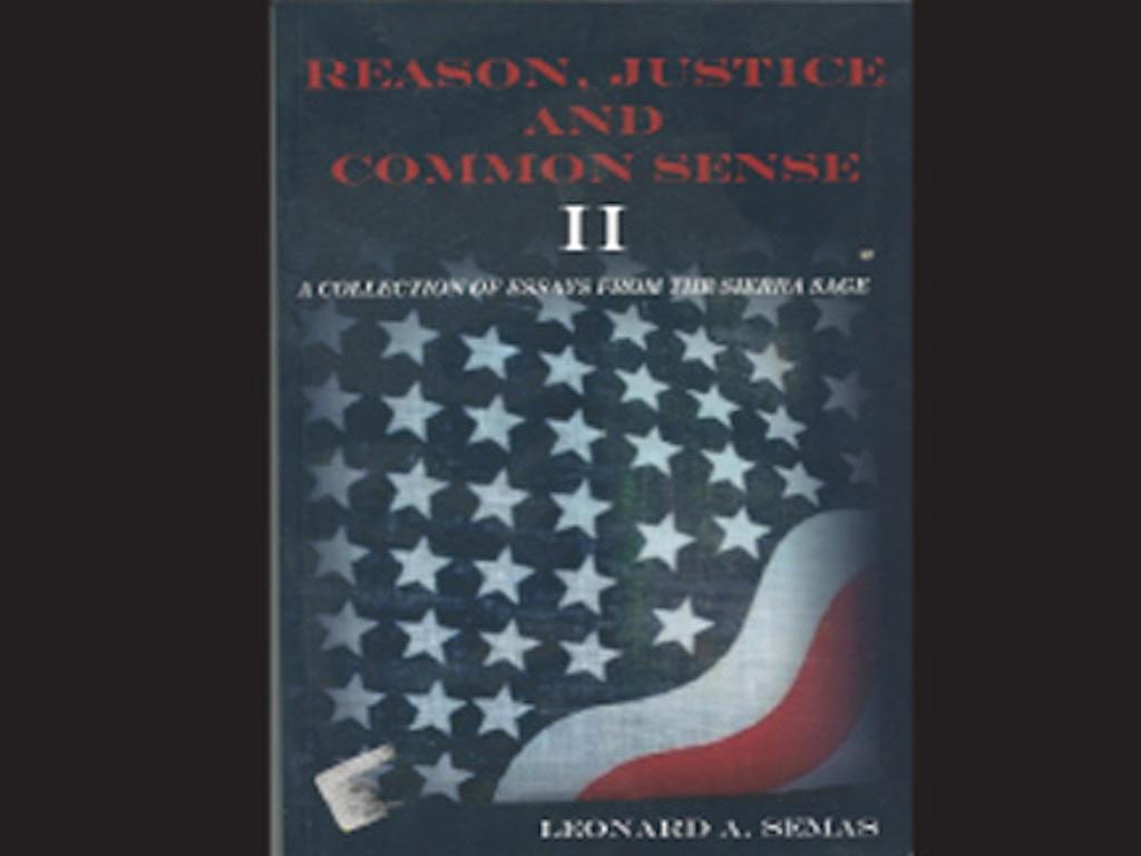 sense for justice essay